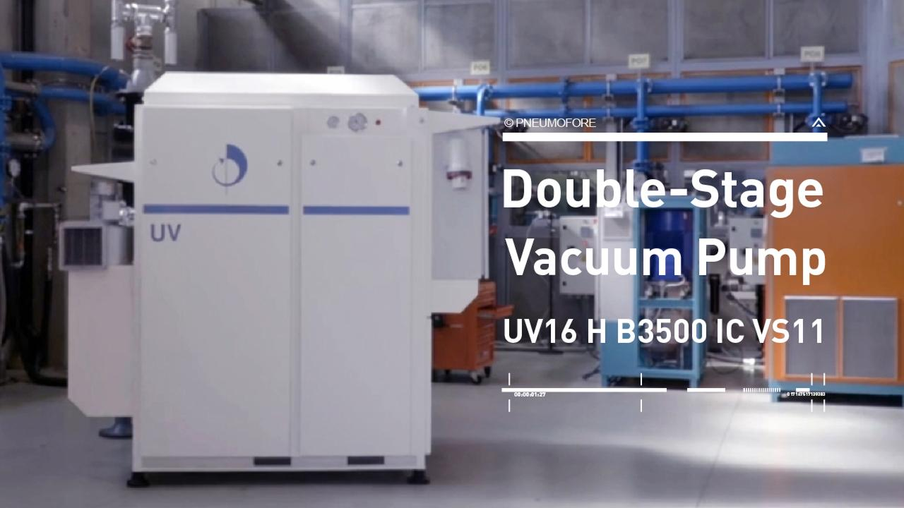 Pneumofore Double-Stage Vacuum System for Drying Applications
